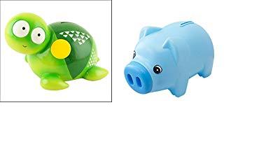 TOYMYTOY Hucha Plastic Saving Pot un regalo /único perfecto de Navidad para los ni/ños azul