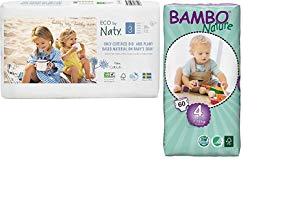 Ni/ño//ni/ña, 2 kg, 4 kg, 28 pieza - Pa/ñal s s Bambo Nature Newborn Ni/ño//ni/ña 1 28pieza
